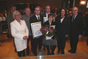 Sieger, Preisträger und Jury des Konrad-Duden-Journalistenpreises 2012